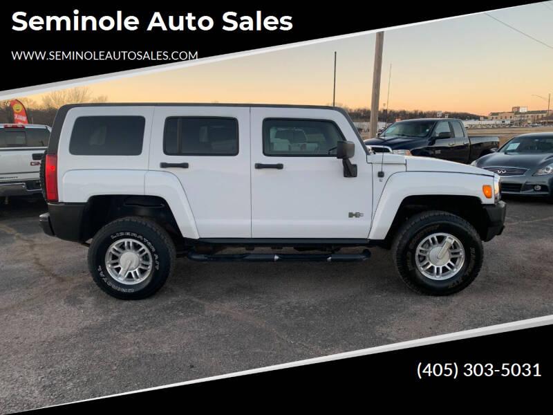 2007 HUMMER H3 for sale at Seminole Auto Sales in Seminole OK