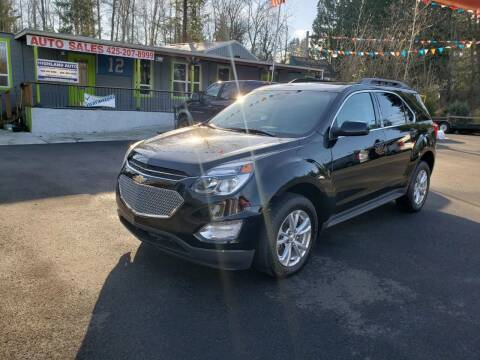 2017 Chevrolet Equinox for sale at HIGHLAND AUTO in Renton WA