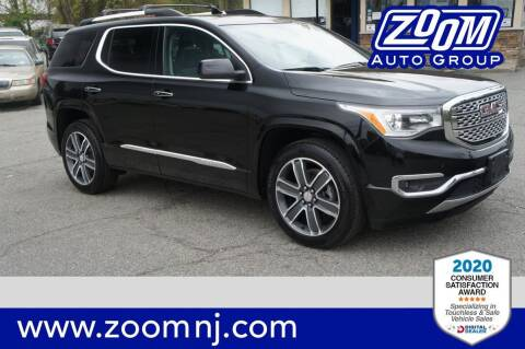 2017 GMC Acadia for sale at Zoom Auto Group in Parsippany NJ