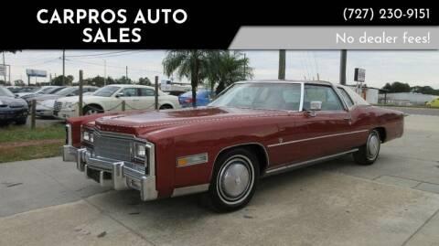 1977 Cadillac Eldorado for sale at Carpros Auto Sales in Largo FL