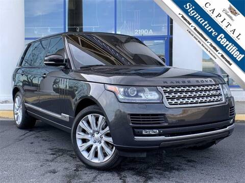 2014 Land Rover Range Rover for sale at Southern Auto Solutions - Georgia Car Finder - Southern Auto Solutions - Capital Cadillac in Marietta GA