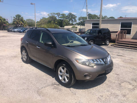 2009 Nissan Murano for sale at Friendly Finance Auto Sales in Port Richey FL