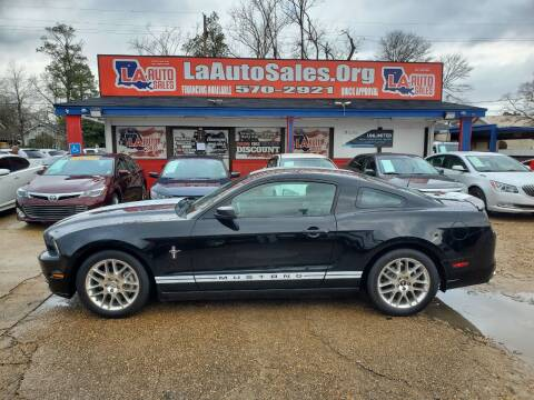 2013 Ford Mustang for sale at LA Auto Sales in Monroe LA