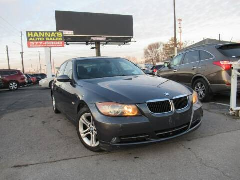 2008 BMW 3 Series for sale at Hanna's Auto Sales in Indianapolis IN