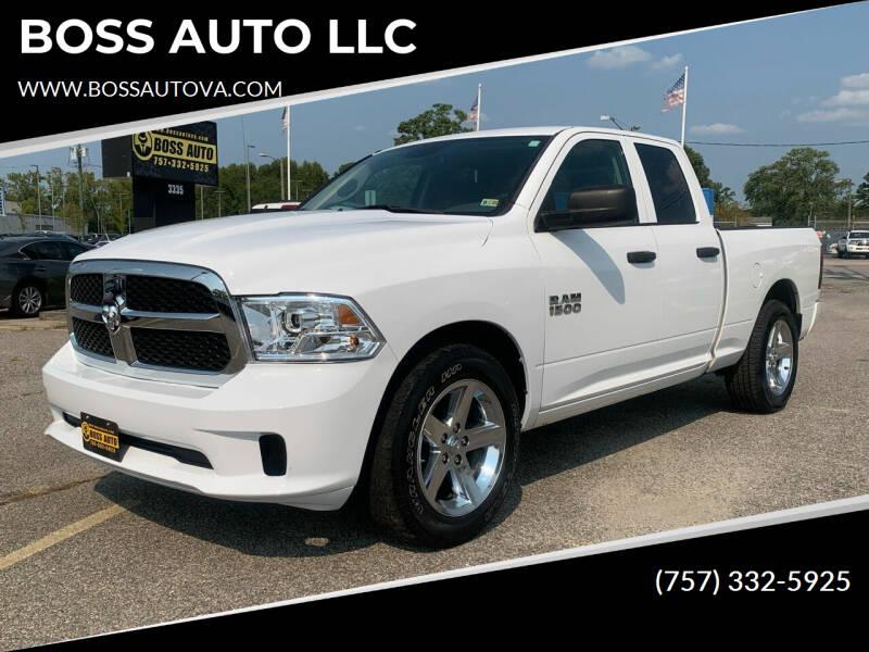 2017 RAM Ram Pickup 1500 for sale at BOSS AUTO LLC in Norfolk VA