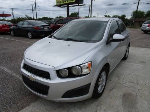 2016 Chevrolet Sonic for sale at 2nd Chance Auto Sales in Montgomery AL