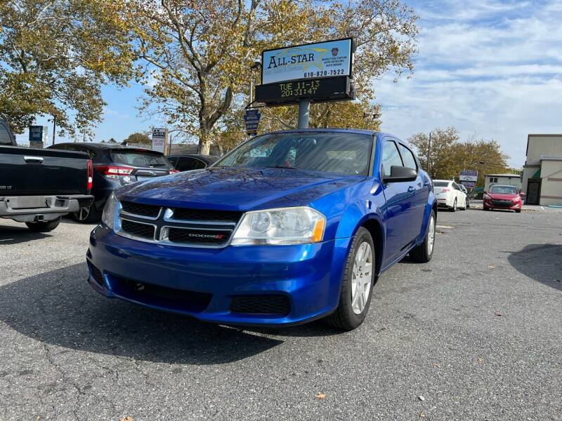 2014 Dodge Avenger for sale at All Star Auto Sales and Service LLC in Allentown PA