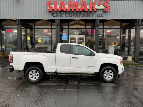 2017 GMC Canyon for sale at Siamak's Car Company llc in Salem OR