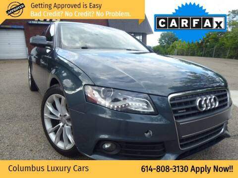 2010 Audi A4 for sale at Columbus Luxury Cars in Columbus OH