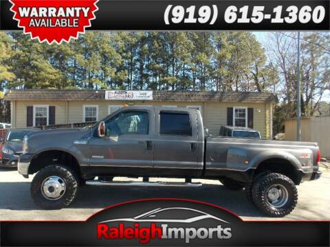 2007 Ford F-350 Super Duty for sale at Raleigh Imports in Raleigh NC