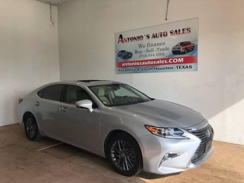 2018 Lexus ES 350 for sale at Antonio's Auto Sales in South Houston TX