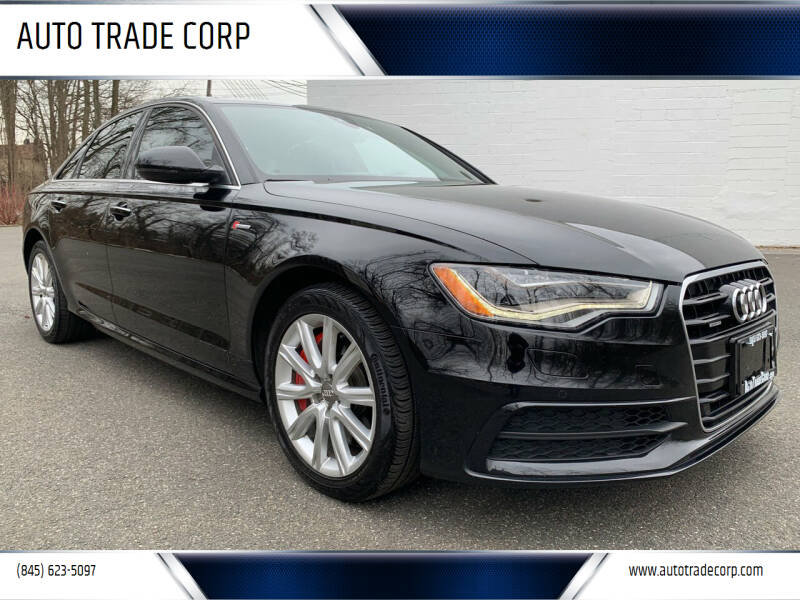 2015 Audi A6 for sale at AUTO TRADE CORP in Nanuet NY