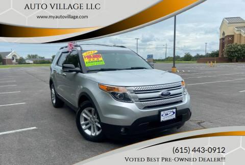2014 Ford Explorer for sale at AUTO VILLAGE LLC in Lebanon TN