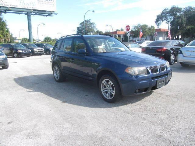 2006 BMW X3 AWD 3.0i 4dr SUV - Orlando FL