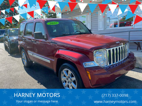 2011 Jeep Liberty for sale at HARNEY MOTORS in Gettysburg PA