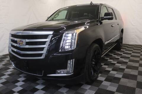 2016 Cadillac Escalade ESV for sale at AH Ride & Pride Auto Group in Akron OH
