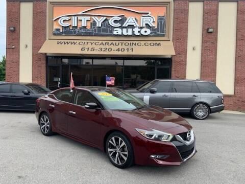 2017 Nissan Maxima for sale at CITY CAR AUTO INC in Nashville TN