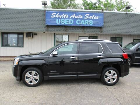 2014 GMC Terrain for sale at SHULTS AUTO SALES INC. in Crystal Lake IL