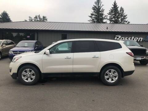 2014 Chevrolet Traverse for sale at ROSSTEN AUTO SALES in Grand Forks ND