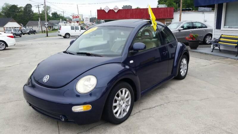 2000 Volkswagen New Beetle for sale at West Elm Motors in Graham NC