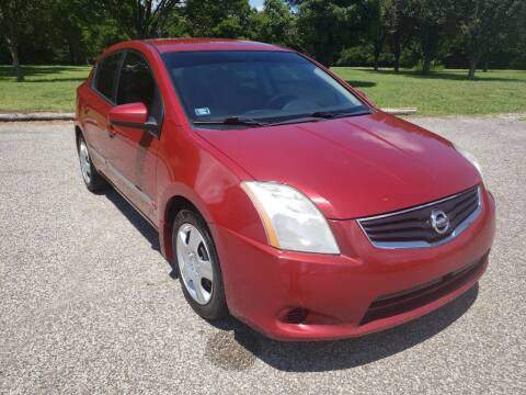2012 Nissan Sentra for sale at NOTE CITY AUTO SALES in Oklahoma City OK