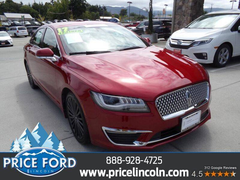 2017 Lincoln MKZ for sale at Price Ford Lincoln in Port Angeles WA