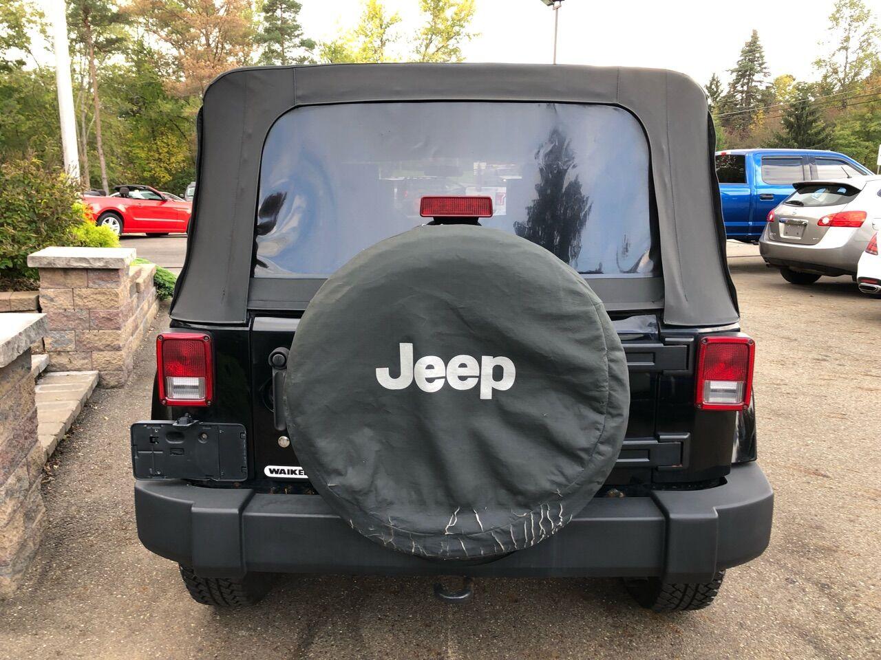 2007 Jeep Wrangler Unlimited Sport Utility