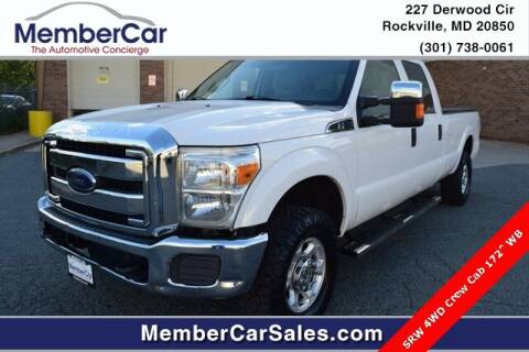 2014 Ford F-250 Super Duty for sale at MemberCar in Rockville MD