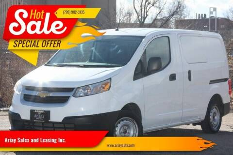 2016 Chevrolet City Express Cargo for sale at Ariay Sales and Leasing Inc. in Denver CO