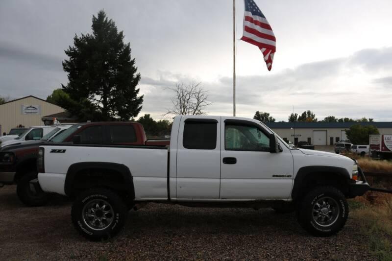 2002 Chevrolet Silverado 2500HD for sale at Northern Colorado auto sales Inc in Fort Collins CO