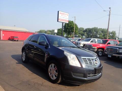 2014 Cadillac SRX for sale at Marty's Auto Sales in Savage MN