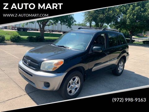 2005 Toyota RAV4 for sale at Z AUTO MART in Lewisville TX