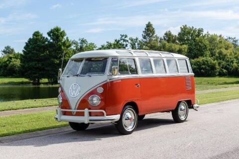1963 Volkswagen Bus for sale at Classic Car Deals in Cadillac MI