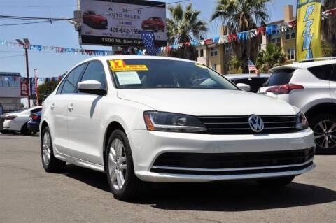 2017 Volkswagen Jetta for sale at AMC Auto Sales Inc in San Jose CA