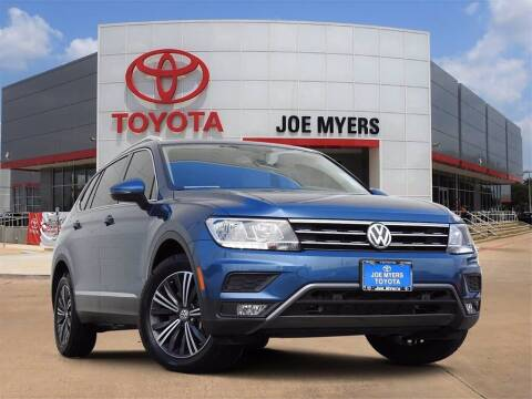 2019 Volkswagen Tiguan for sale at Joe Myers Toyota PreOwned in Houston TX