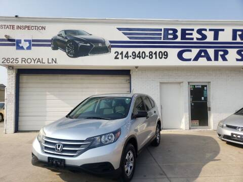 2014 Honda CR-V for sale at Best Royal Car Sales in Dallas TX