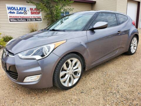 2012 Hyundai Veloster for sale at Hollatz Auto Sales in Parkers Prairie MN