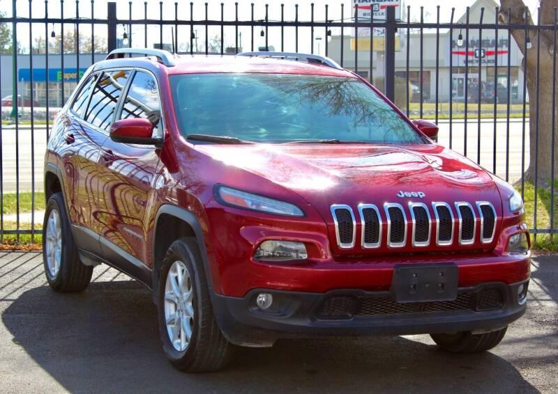 2017 Jeep Cherokee for sale at Avanesyan Motors in Orem UT