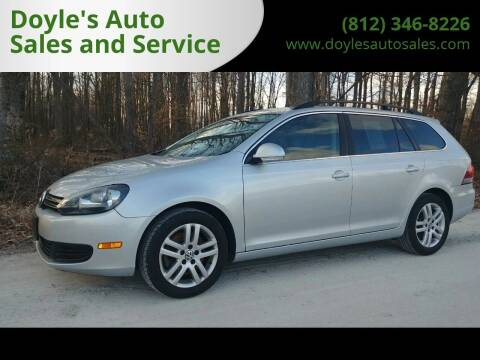 2014 Volkswagen Jetta for sale at Doyle's Auto Sales and Service in North Vernon IN
