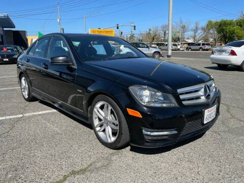2012 Mercedes-Benz C-Class for sale at All Cars & Trucks in North Highlands CA