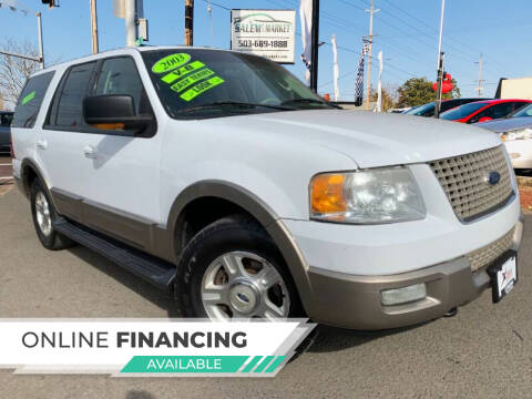 2003 Ford Expedition for sale at Salem Auto Market in Salem OR