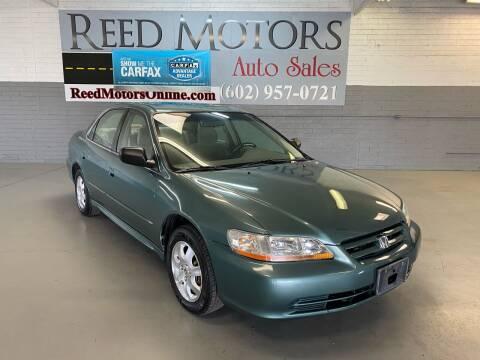 2002 Honda Accord for sale at REED MOTORS LLC in Phoenix AZ