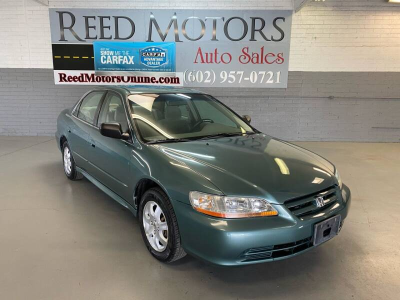 2002 Honda Accord for sale at REED MOTORS LLC in Phoenix AZ