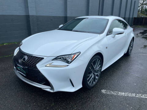 2017 Lexus RC 200t for sale at APX Auto Brokers in Lynnwood WA