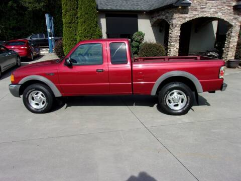 2002 Ford Ranger for sale at Hoyle Auto Sales in Taylorsville NC