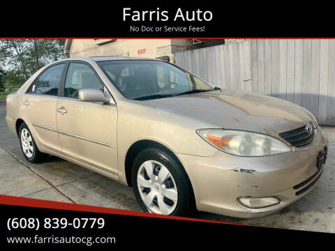2003 Toyota Camry for sale at Farris Auto - Main Street in Stoughton WI