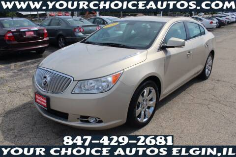 2010 Buick LaCrosse for sale at Your Choice Autos - Elgin in Elgin IL
