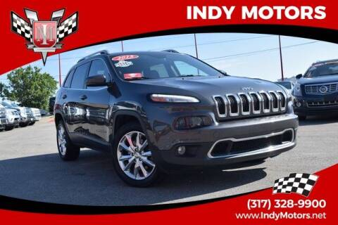 2015 Jeep Cherokee for sale at Indy Motors Inc in Indianapolis IN