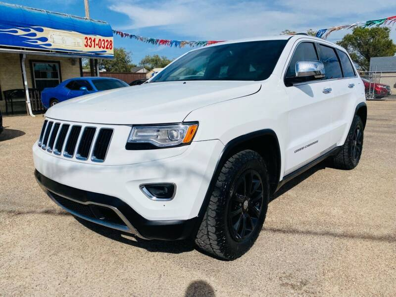 2016 Jeep Grand Cherokee for sale at California Auto Sales in Amarillo TX