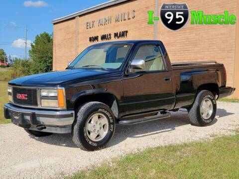1993 GMC Sierra 1500 for sale at I-95 Muscle in Hope Mills NC